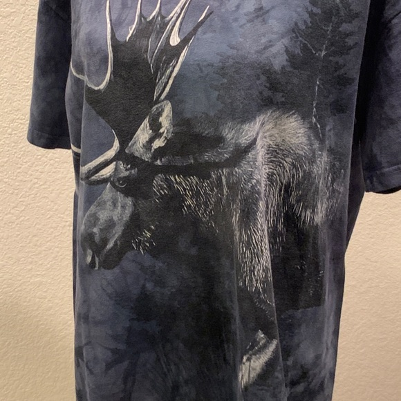 The Mountain Other - Mystical moose shirt sleeve men's t-shirt